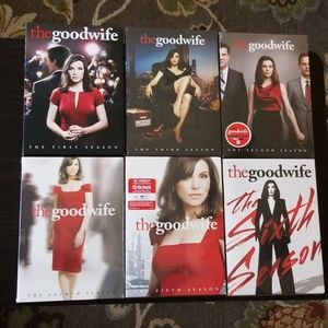 Good Wife dvd 6 seasons series